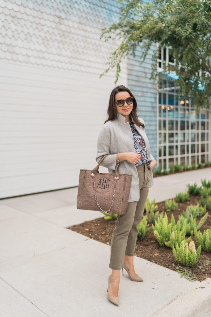 How to style the J.Crew sweater blazer