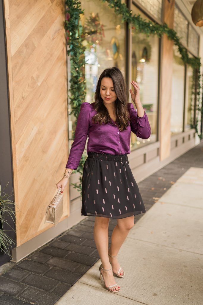 How to wear jewel tones during the holidays