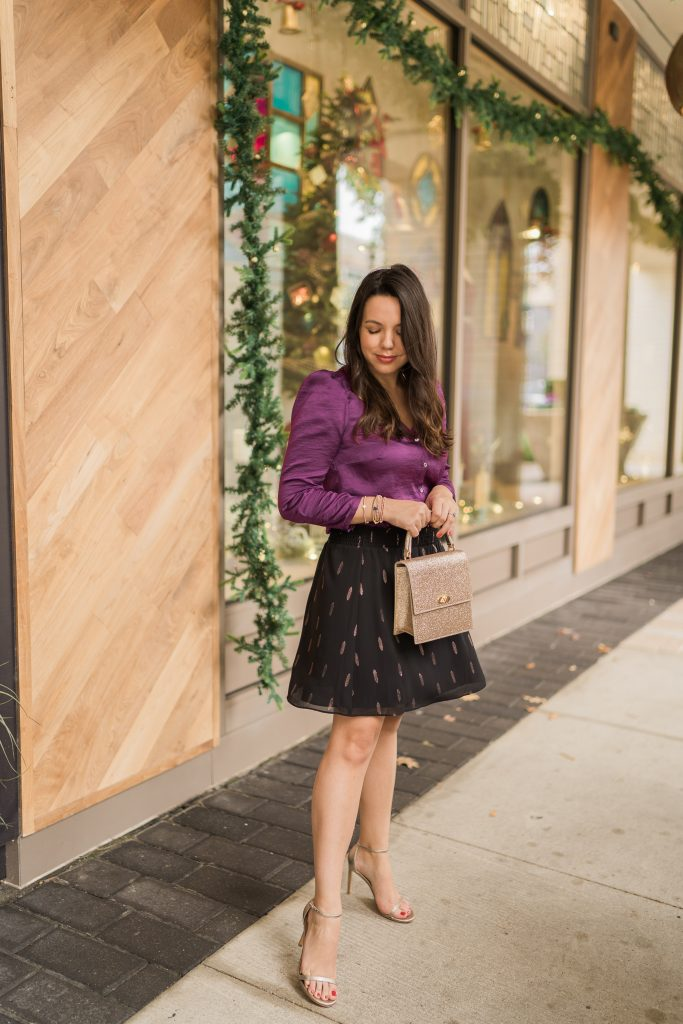Holiday style outfit ideas with 1. State at Nordstrom