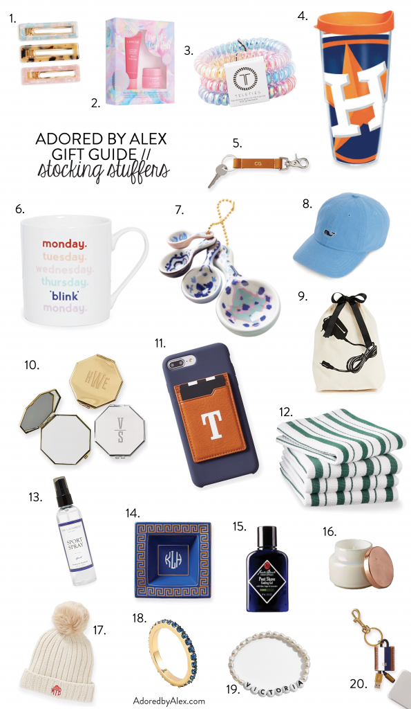 20 Christmas Stocking Stuffer Ideas | Adored by Alex 2019