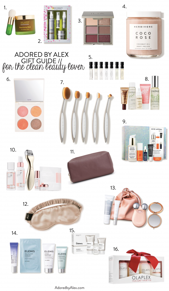 Holiday Gift Guide for the Clean Beauty Lover | Adored by Alex