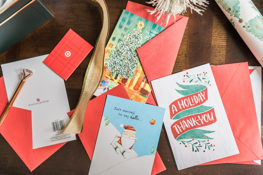 American Greetings holiday cards at Target