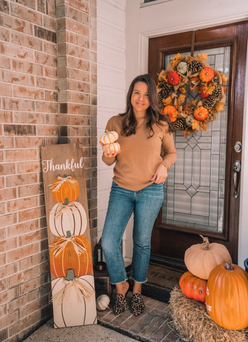 Autumn Porch Decor Inspiration
