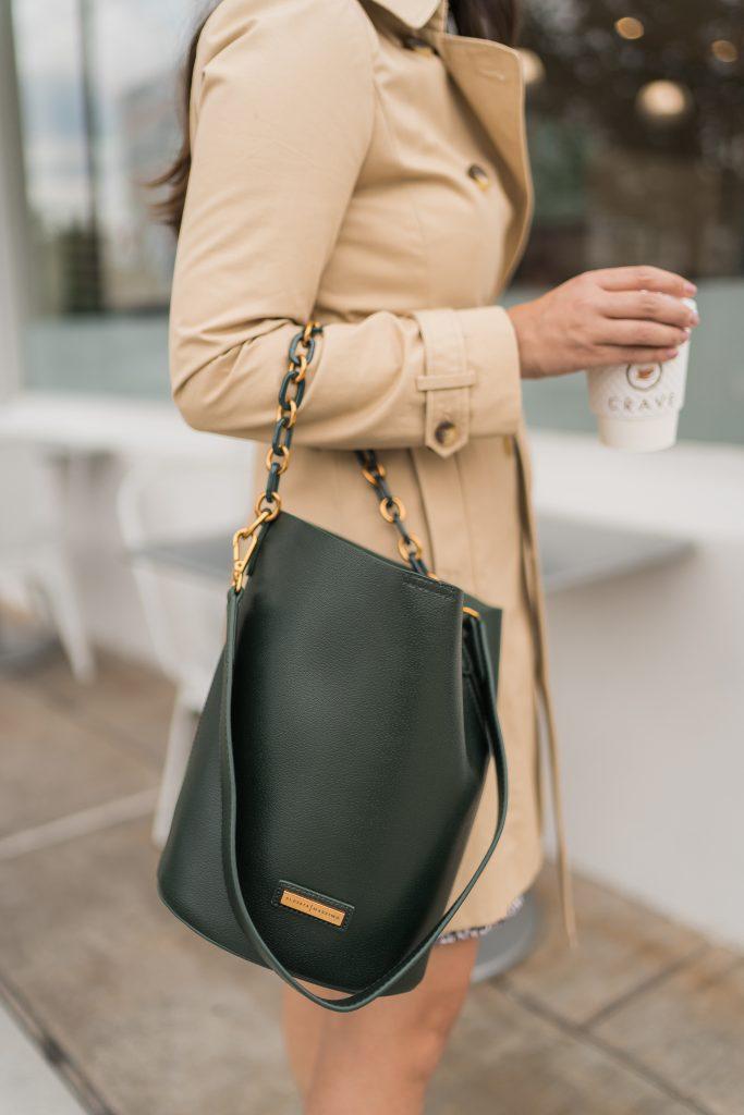 Budget-friendly bucket bag purse, Alessia Massimo