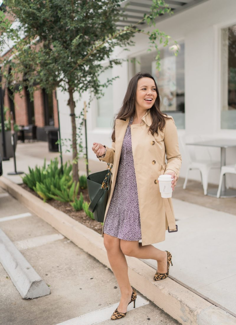 Styling a Classic Beige Trench Coat