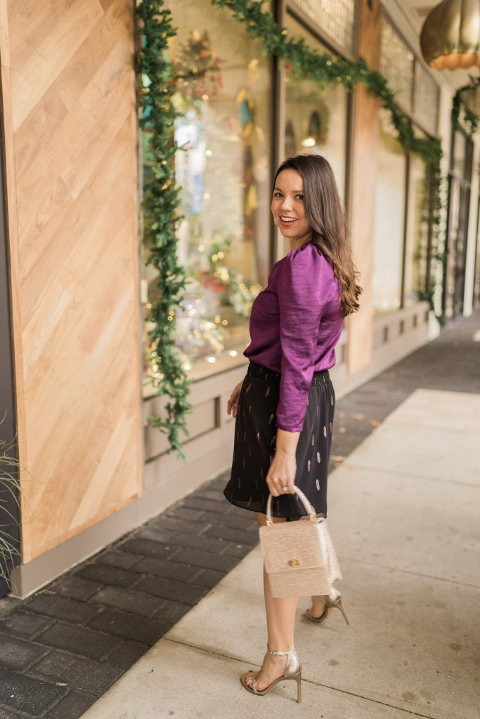 holiday appropriate handbags by Neely & Chloe