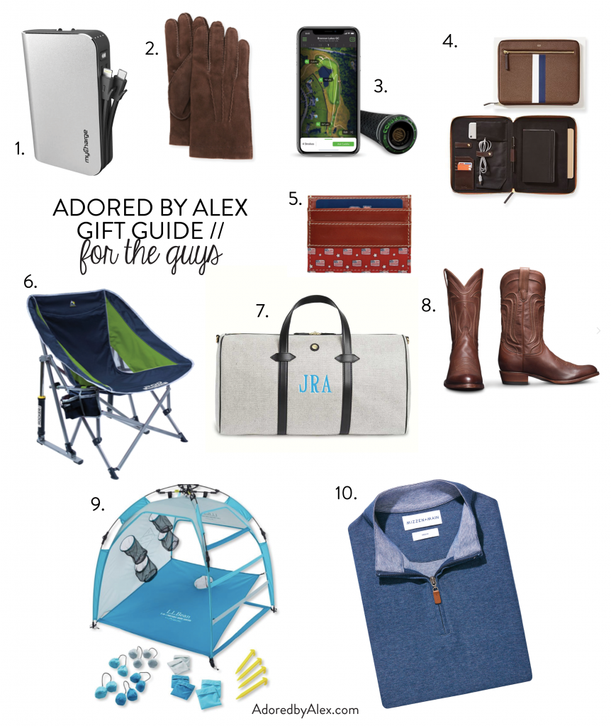 10 gift ideas for the guys this holiday season | Adored by Alex