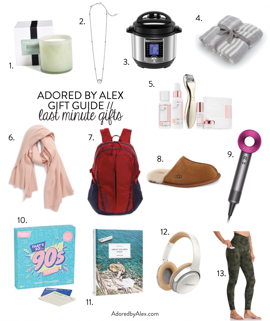 Last minute gifts for Christmas | Adored by Alex