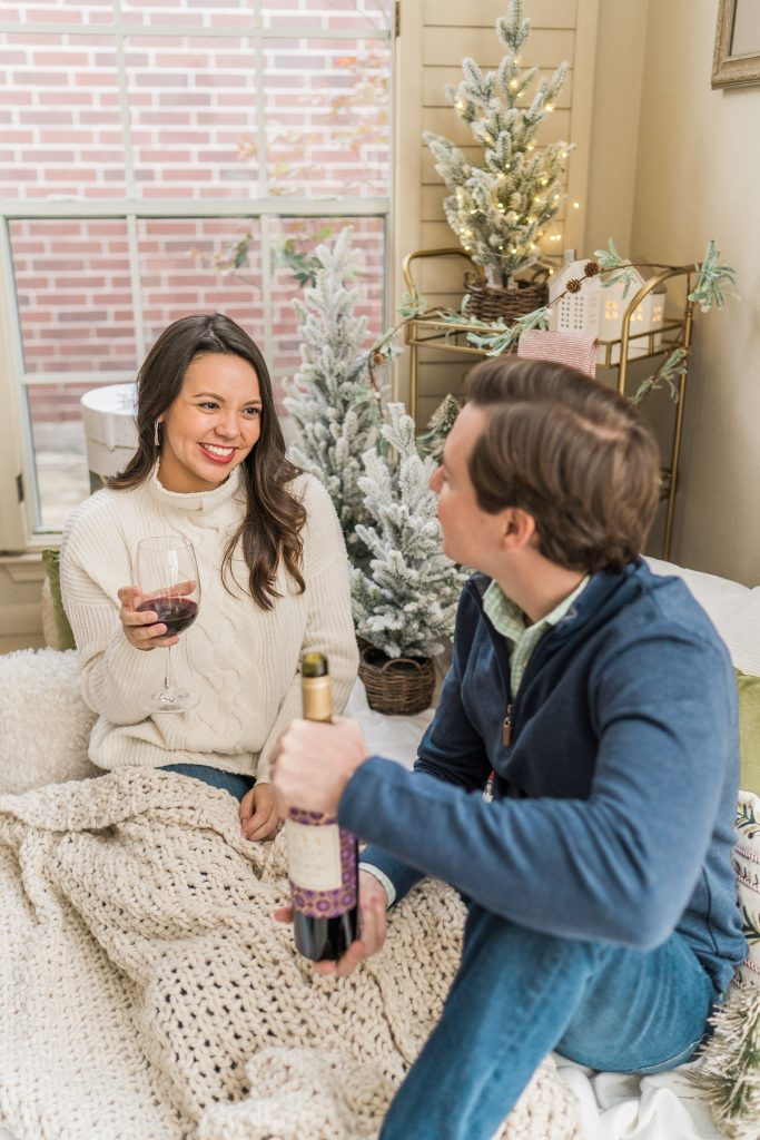 4 stay at home winter date night ideas with AVA Grace vineyards