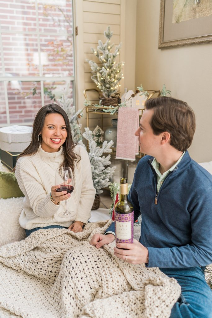 4 Stay At Home Winter Date Night Ideas | Adored by Alex
