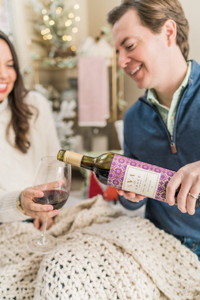 date night in ideas with AVA Grace vineyards