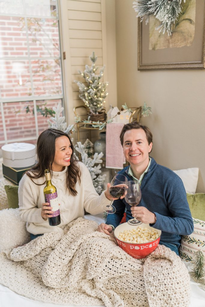 Stay at home date night ideas for winter | Adored by Alex