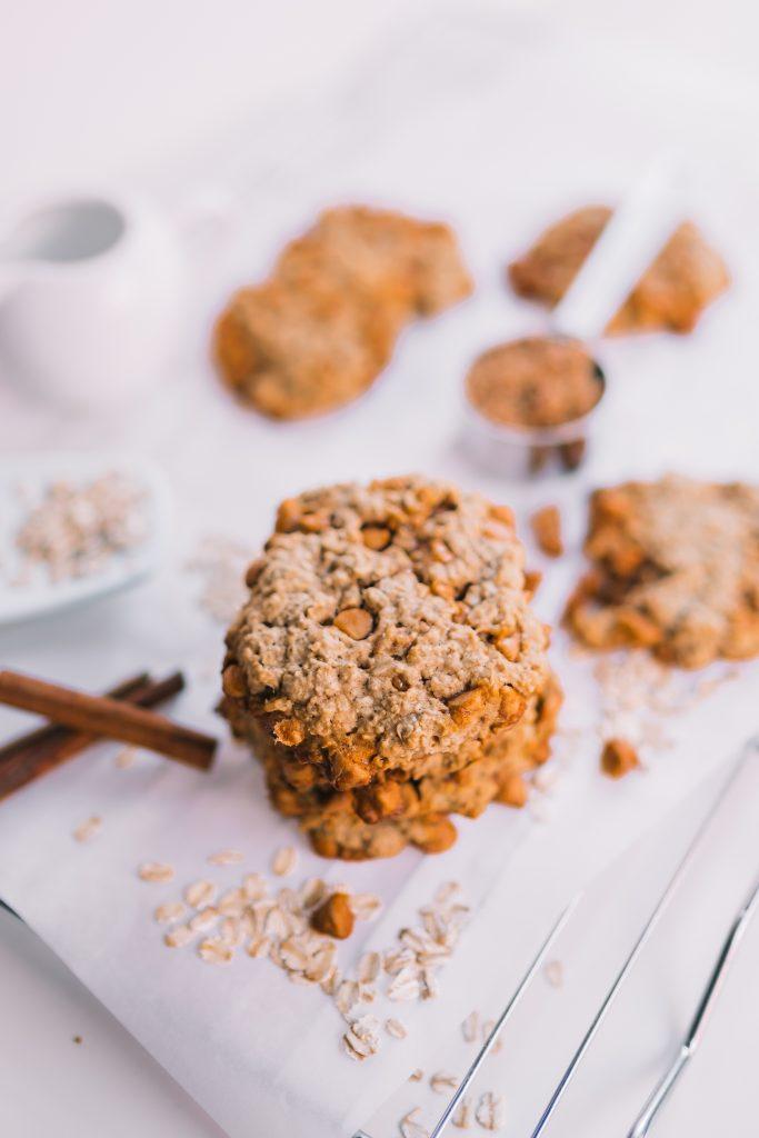 Butterscotch & Oatmeal cookies | Adored by Alex