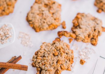 A healthy spin on Butterscotch & Oatmeal cookies