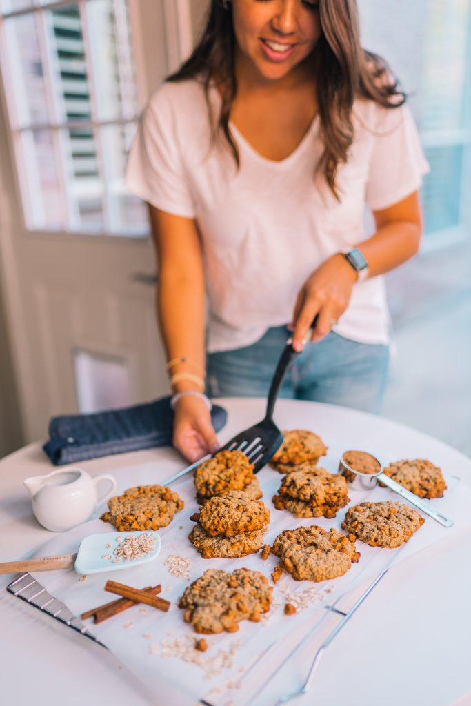 Soft & chewy Butterscotch and Oatmeal cookies | Adored by Alex
