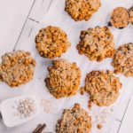 Healthy Butterscotch and Oatmeal cookies | Adored by Alex