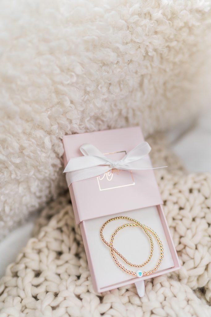 Le Mel stretch bracelets set