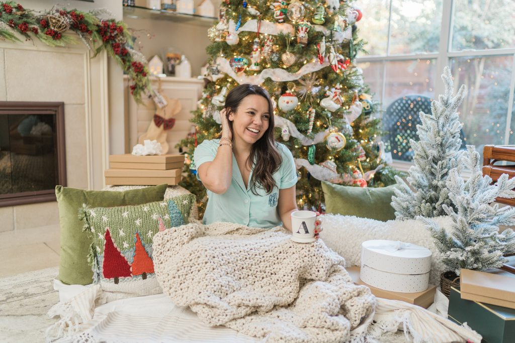Marley Lilly Monogrammed Pajamas for Christmas   Adored by Alex