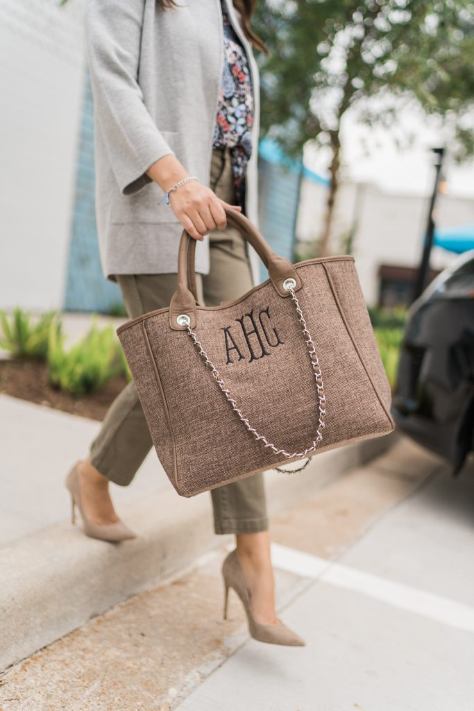 Marley Lilly monogrammed tote bag   Adored by Alex