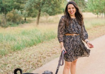 Chiffon printed dress, budget-friendly finds