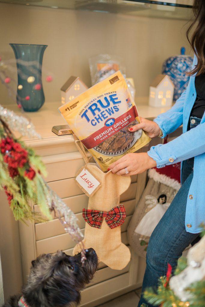 Tyson True Chews dog treats for the holidays