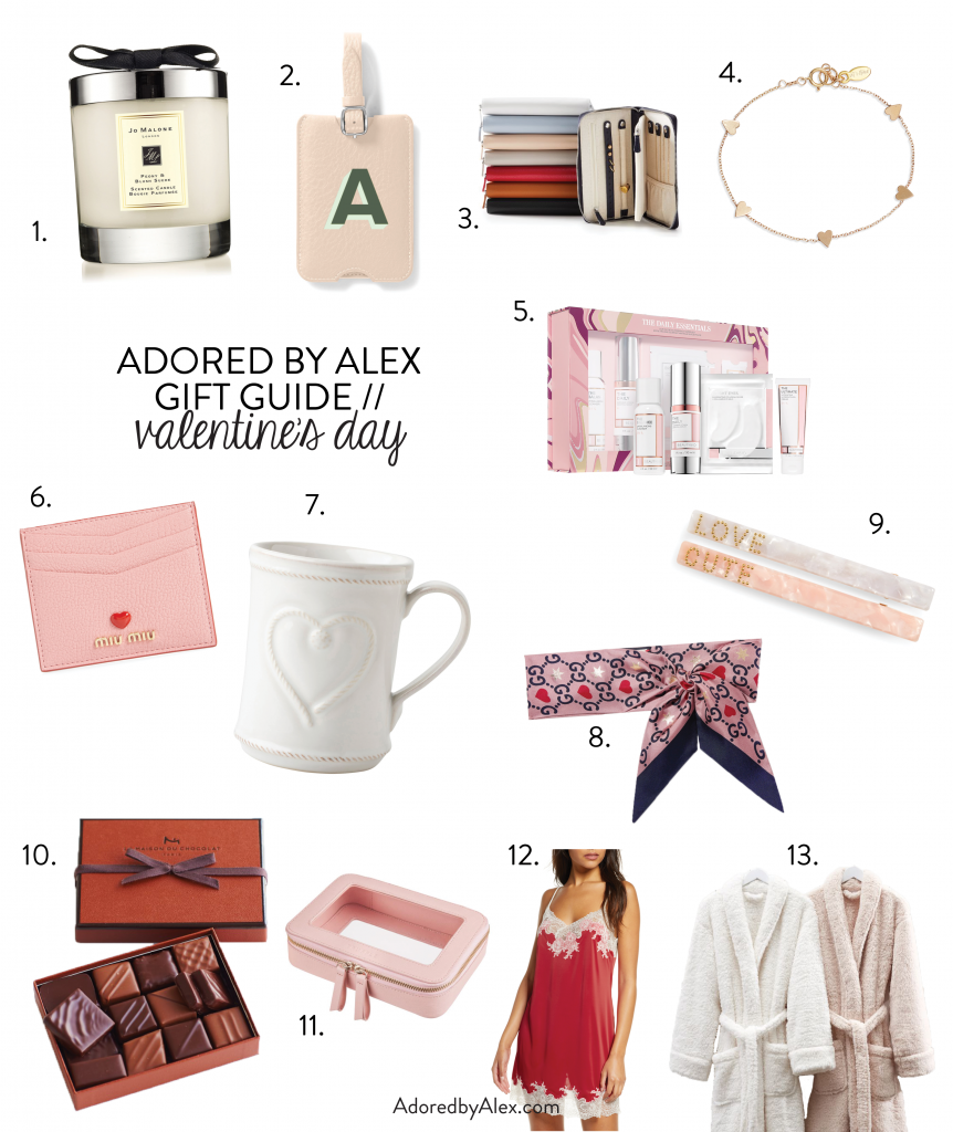 Valentine's Day Gifts for Her | Adored by Alex 2020