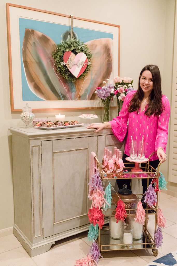 How to throw a low-key Galentine's Day gathering | Adored by Alex