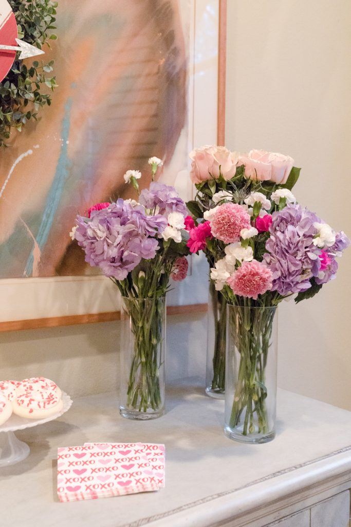 Easy to arrange DIY floral arrangements for Valentine's Day