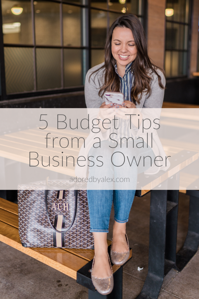 5 Budget Tips from a Small Business Owner and entrepreneur