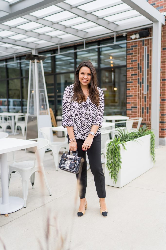 Classic wear to work style outfit idea