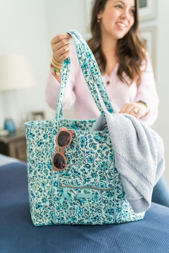 Vera Bradley daily tote bag for travel