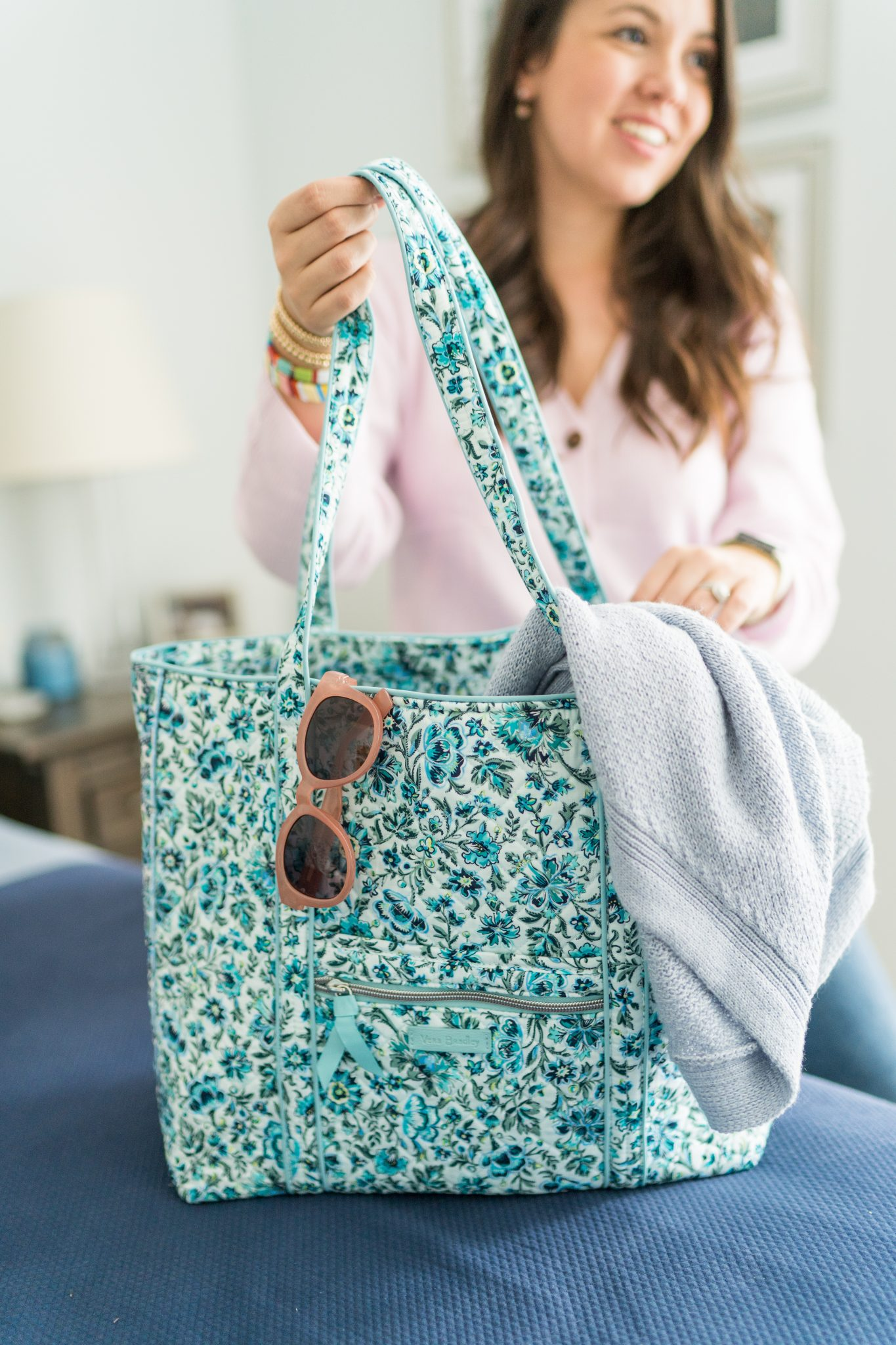 Vera Bradley daily tote bag for travel