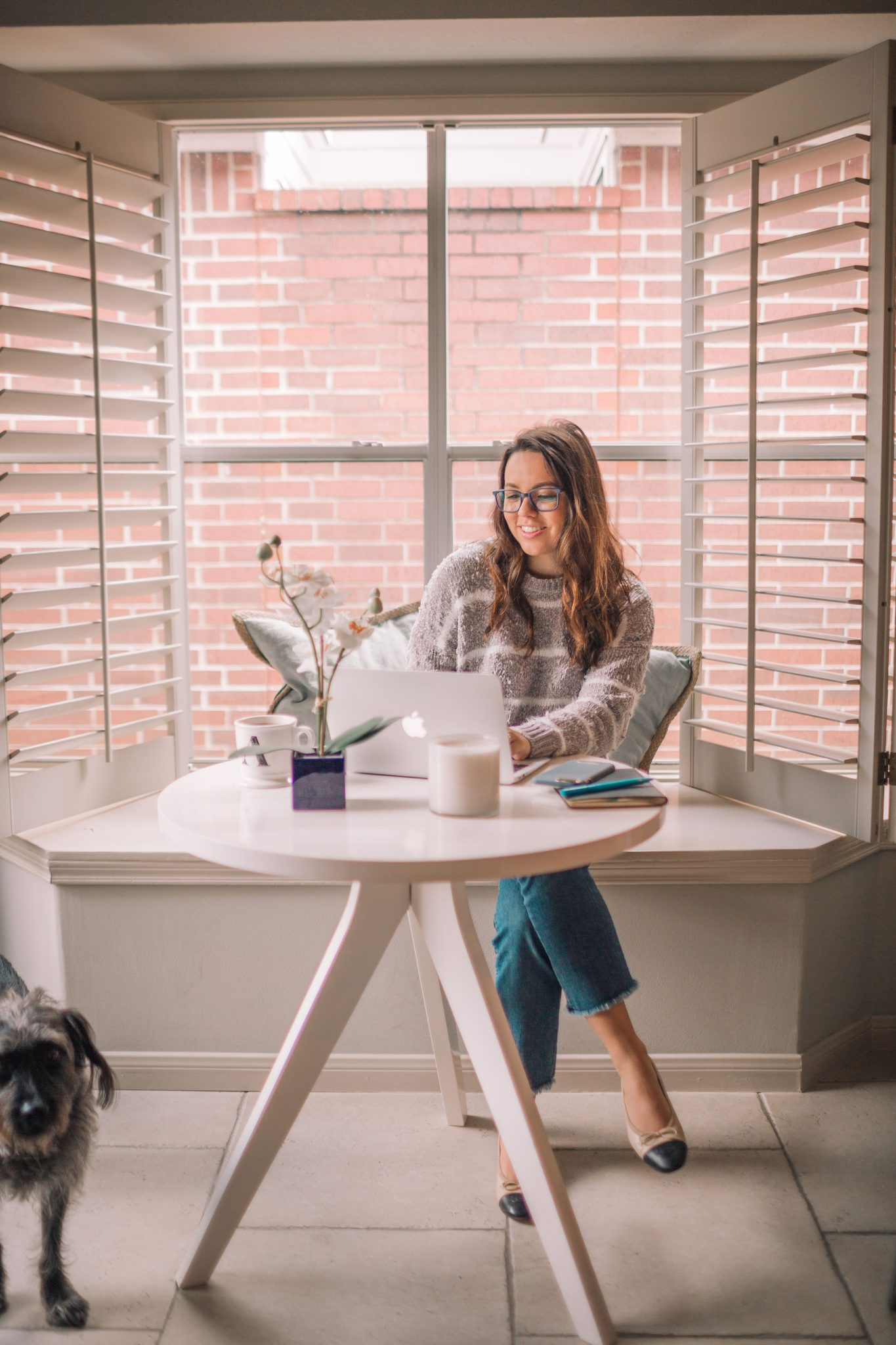 7 steps to productivity when working from home | Adored by Alex