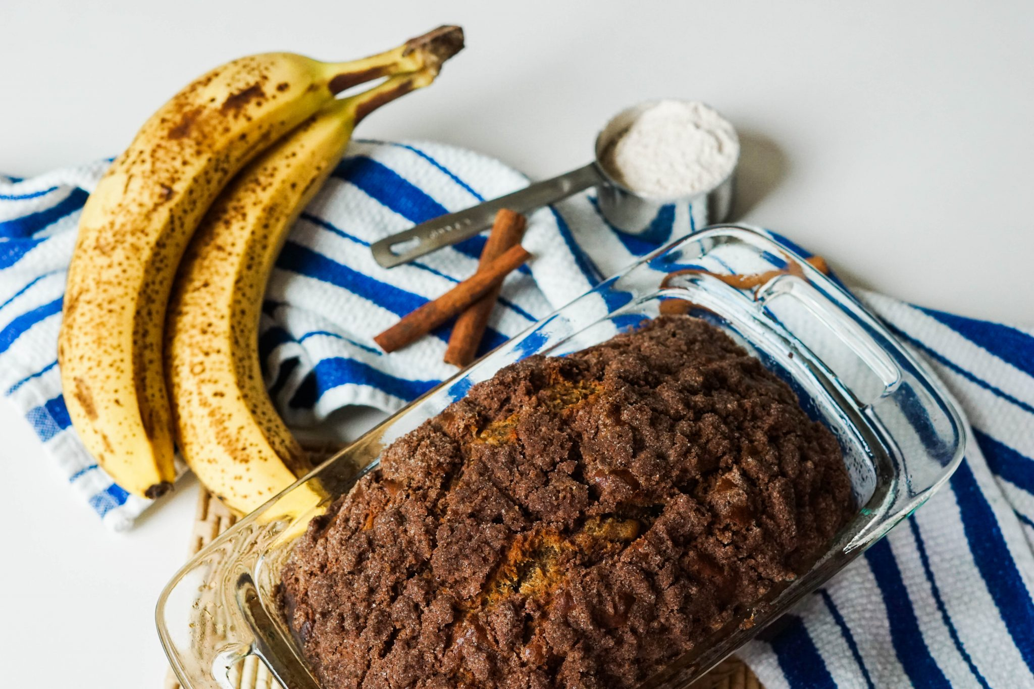 Cinnamon Banana bread that's healthier and easy to make