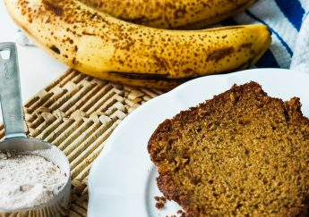 Healthy-ish Cinnamon Banana Bread