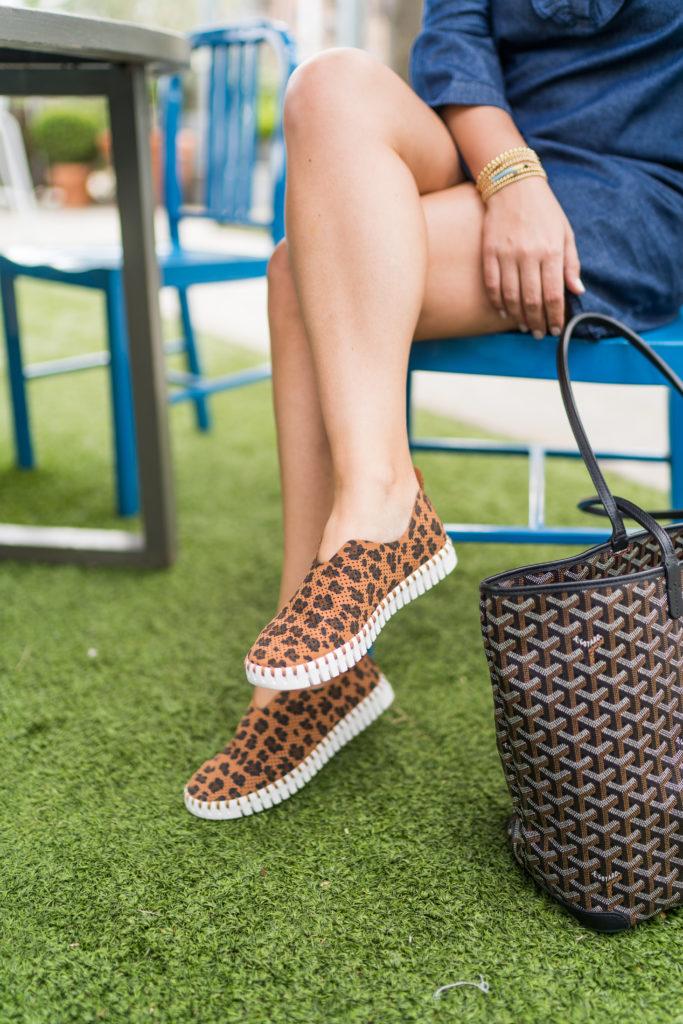 Ilse Jacobsen Tulip leopard print shoes