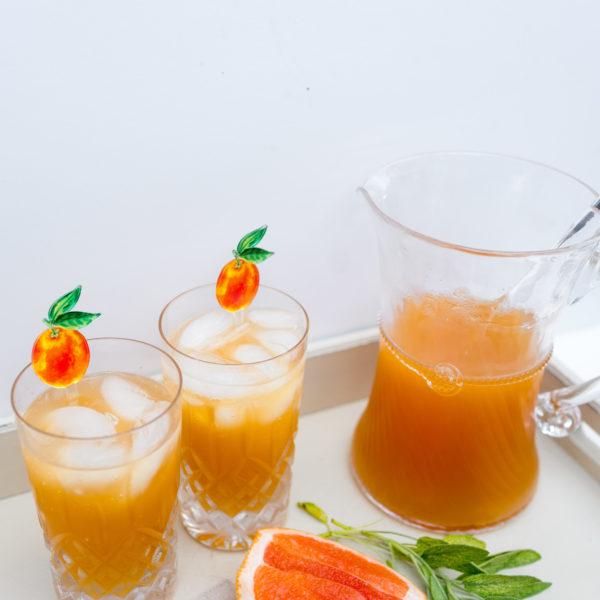 Sage-Infused Grapefruit Vodka Spritzer