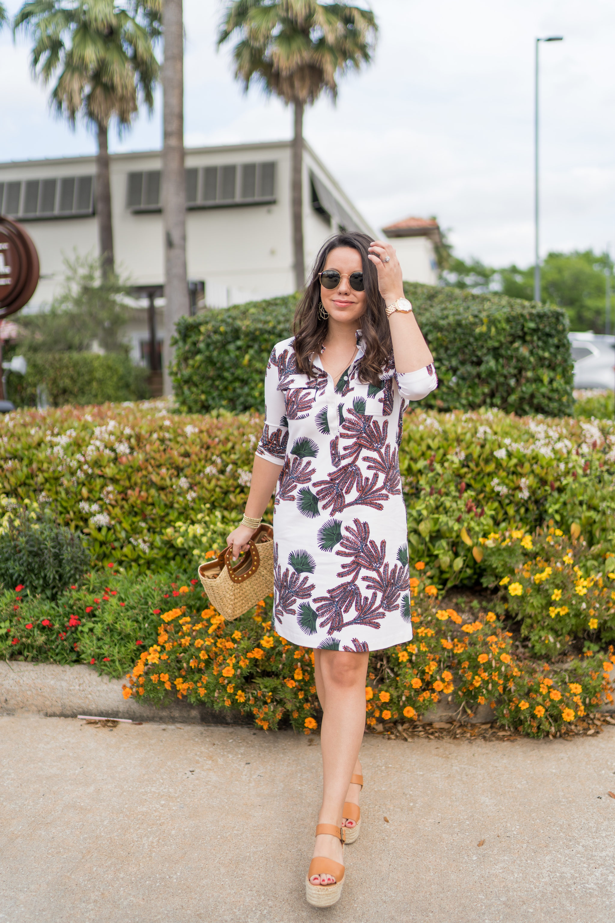 Persifor Winpenny printed dress