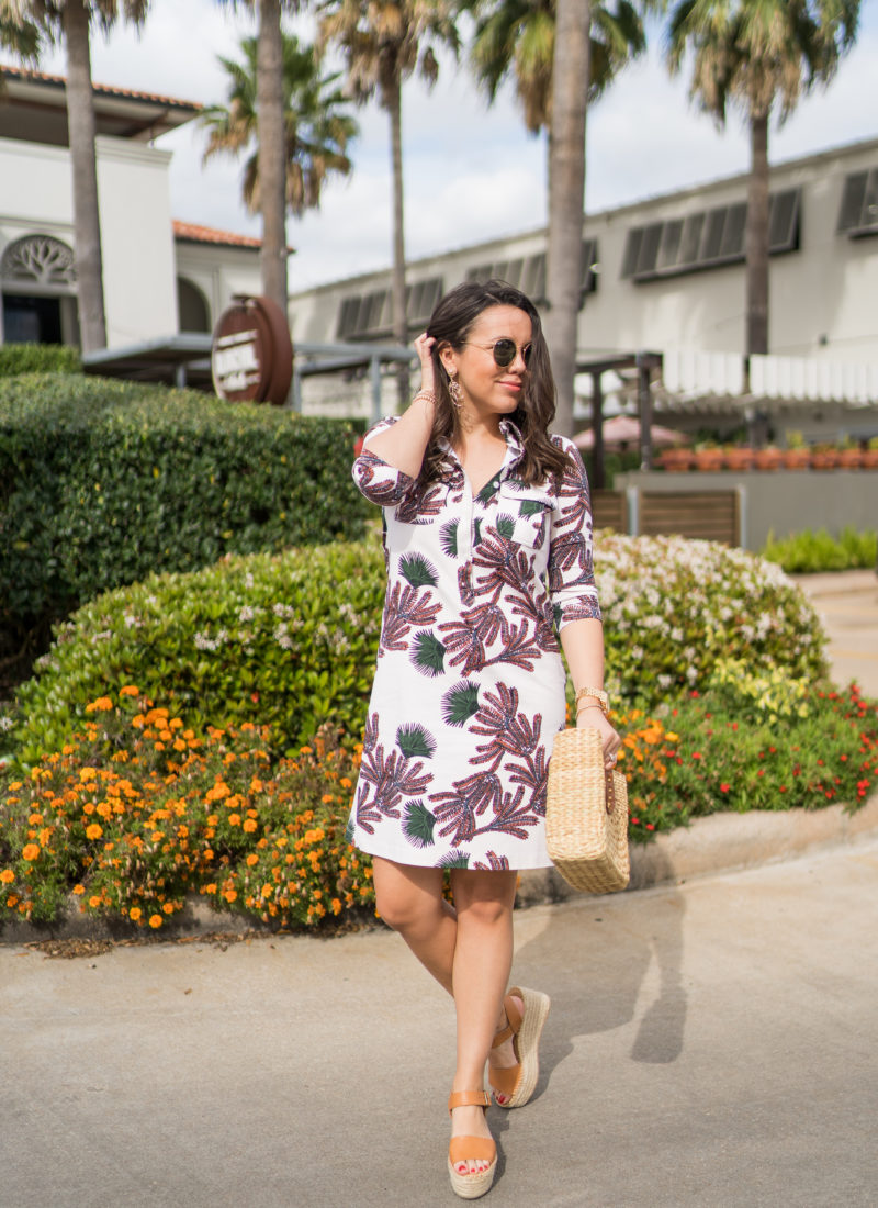 Persifor printed shirtdress for summer