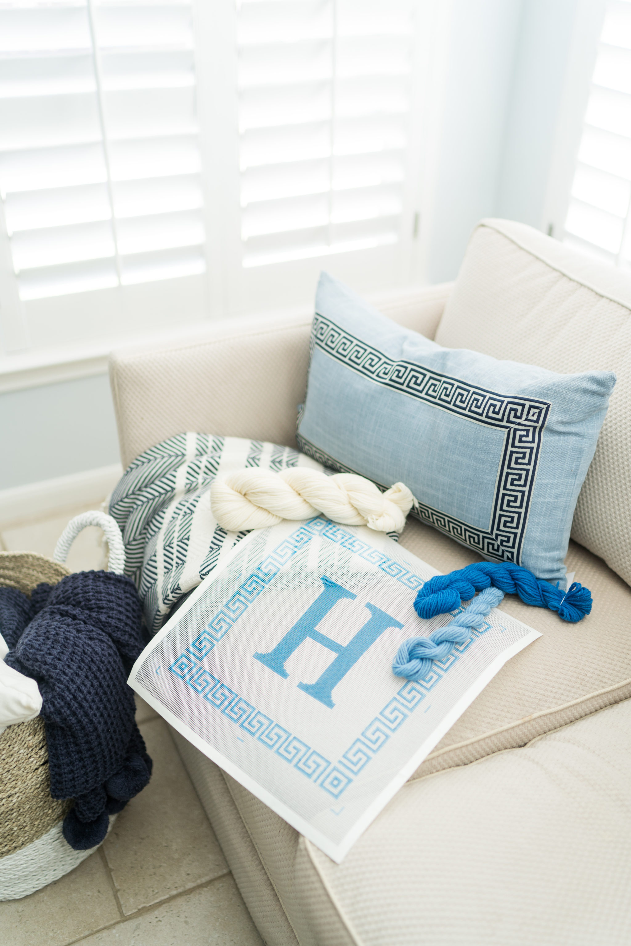 Beginners guide to needlepoint and where to find canvases