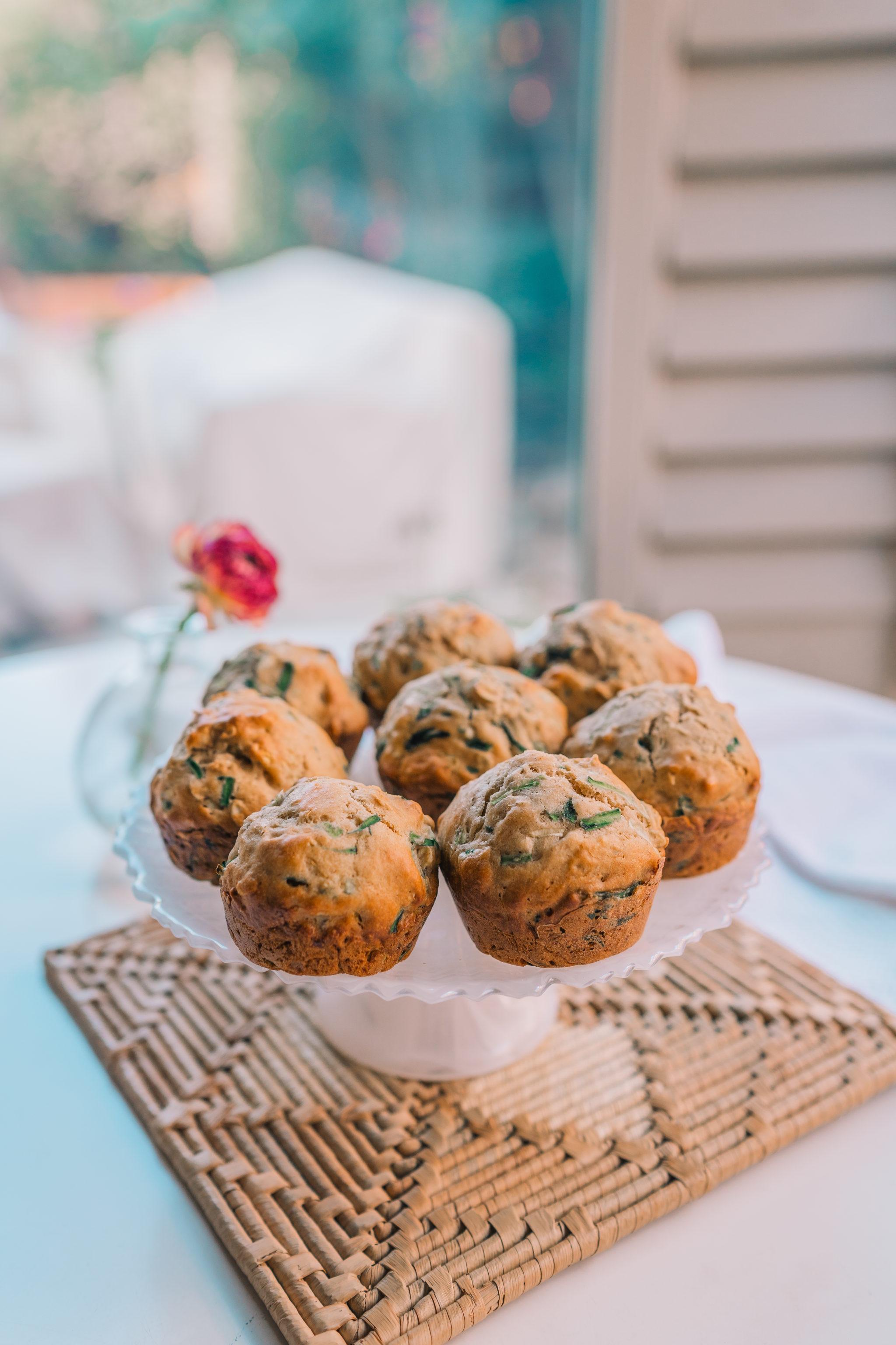 healthy zucchini muffins recipe