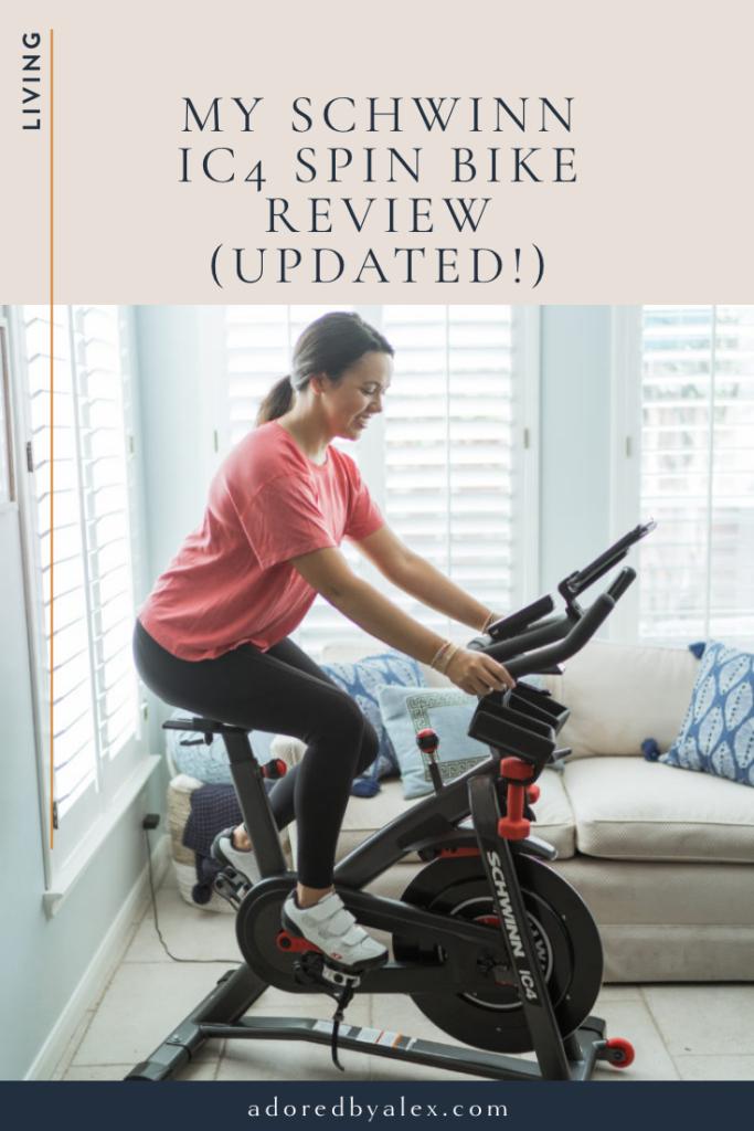 schwinn ic4 spin bike review