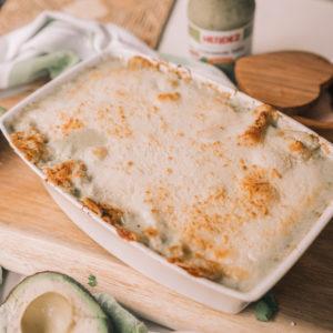 Guacamole salsa chicken enchiladas dinner recipe