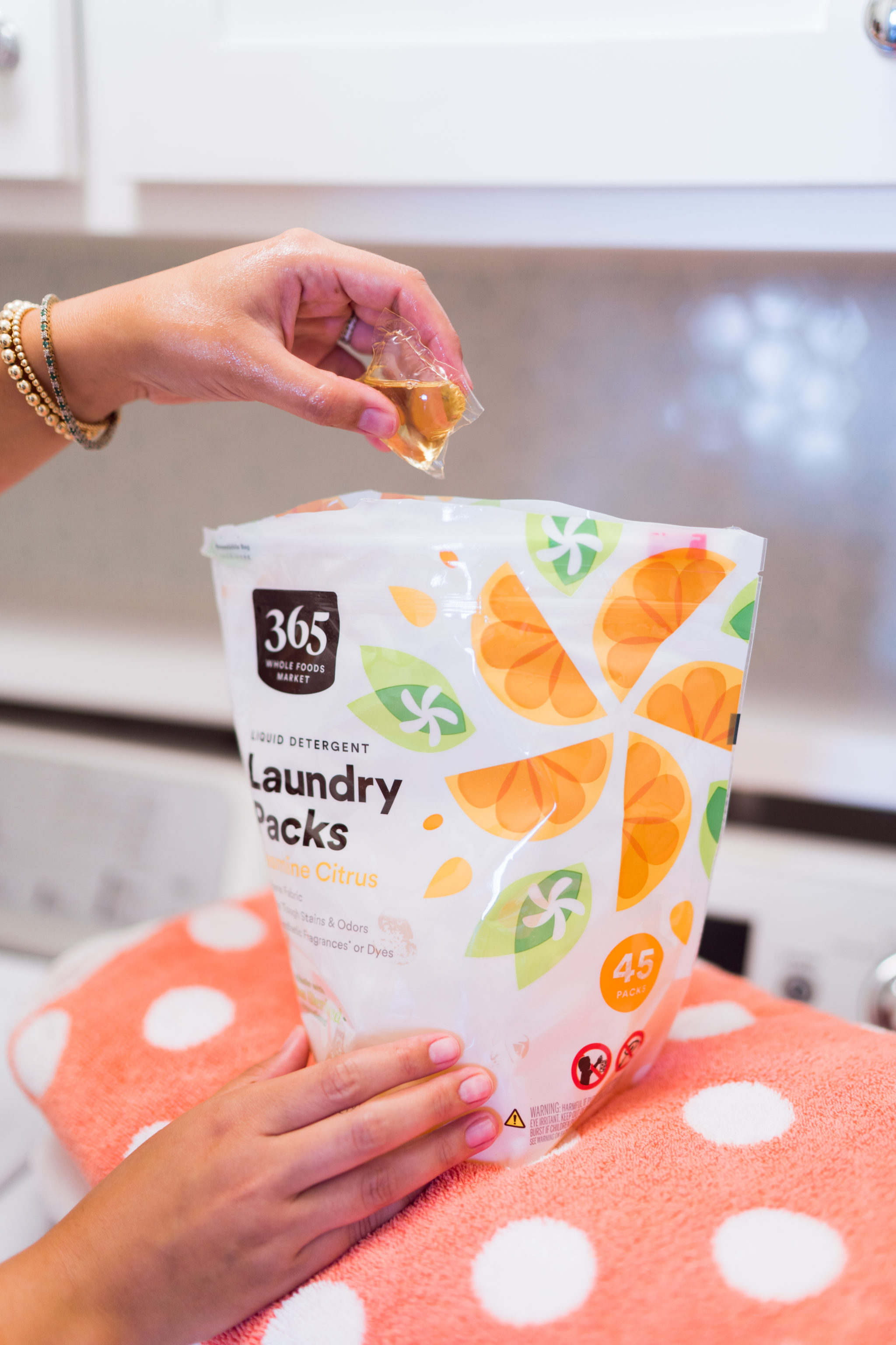 Whole Foods 365 Natural laundry detergent pods review