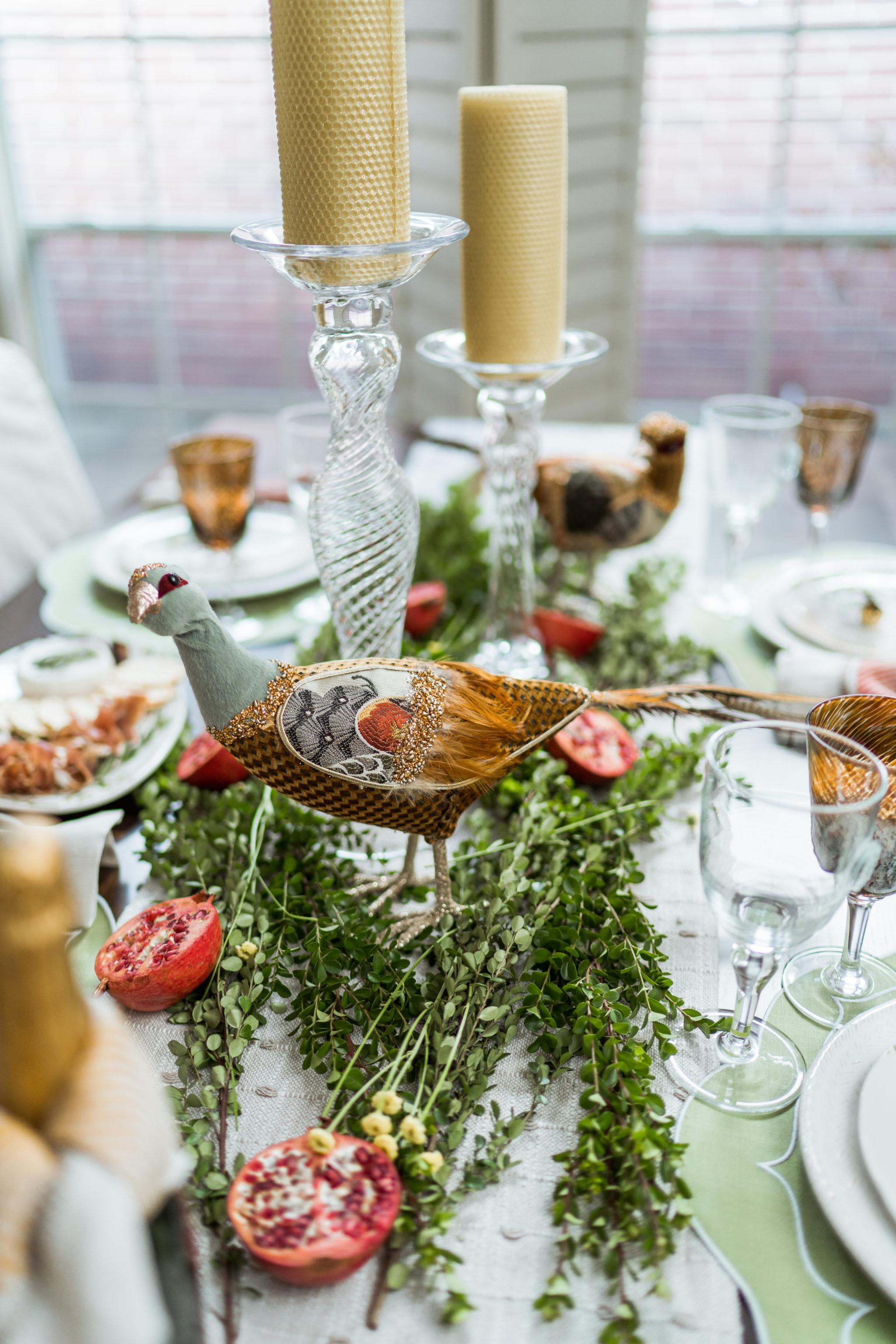 Thanksgiving table decor ideas