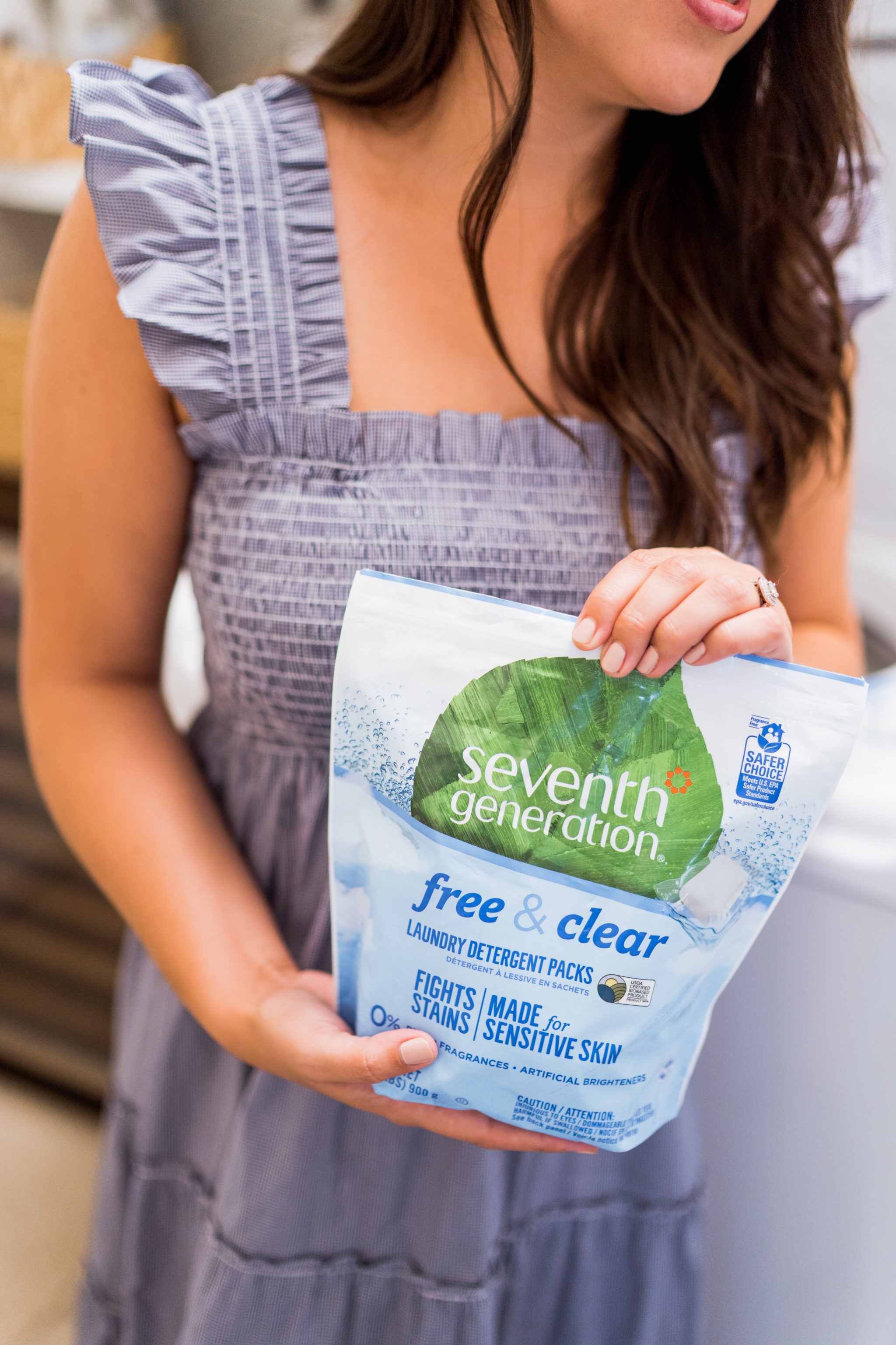 Seventh Generation free & clear natural laundry detergent review