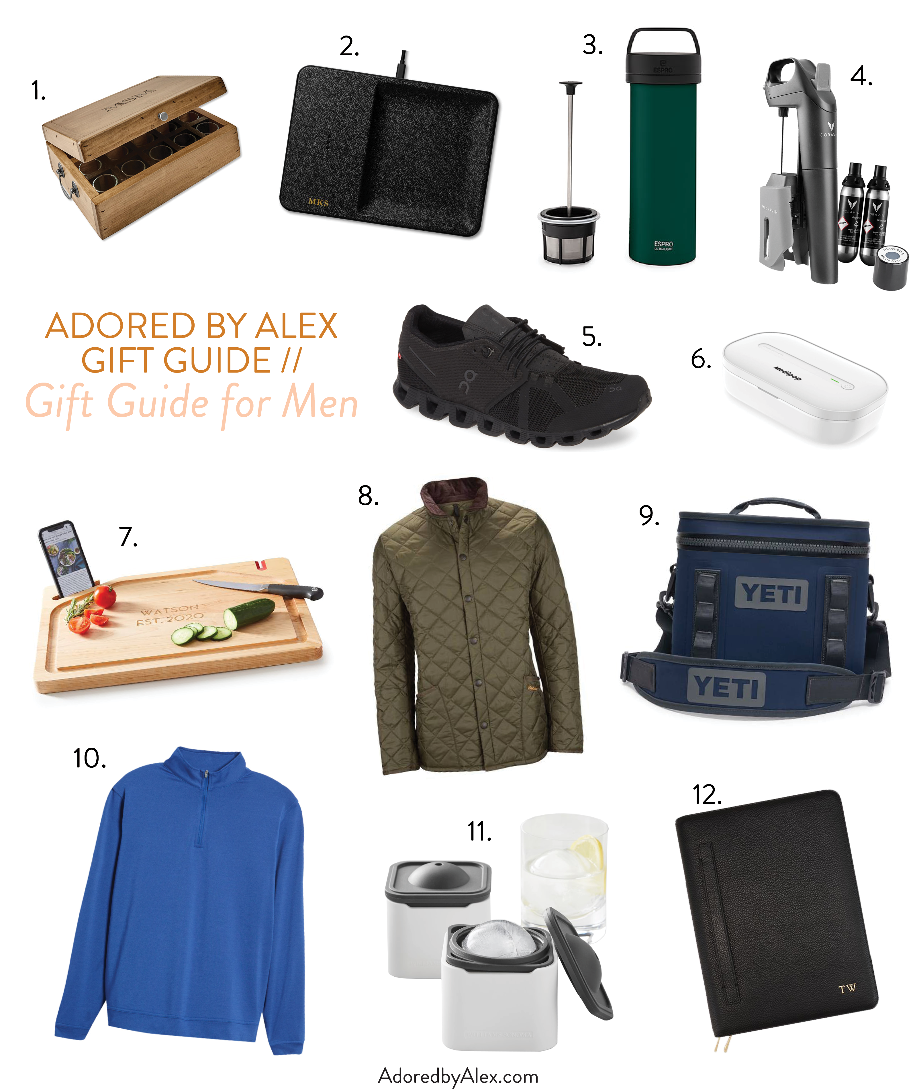 12 Gift Ideas for Him - Adored by Alex