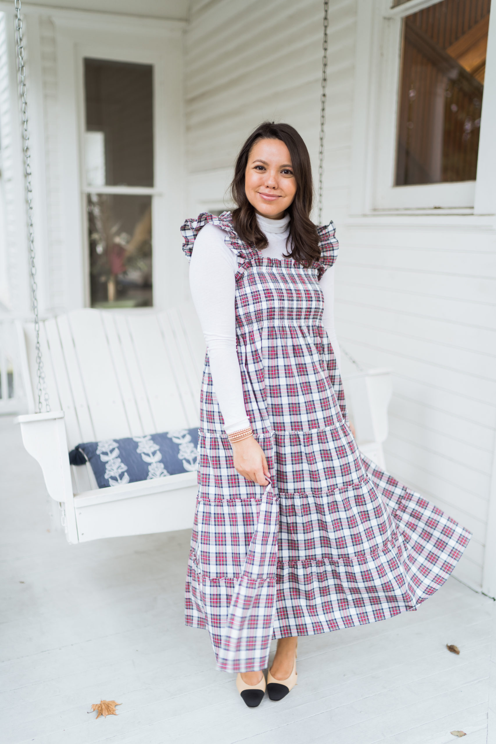 How to style the Hill House Ellie nap dress