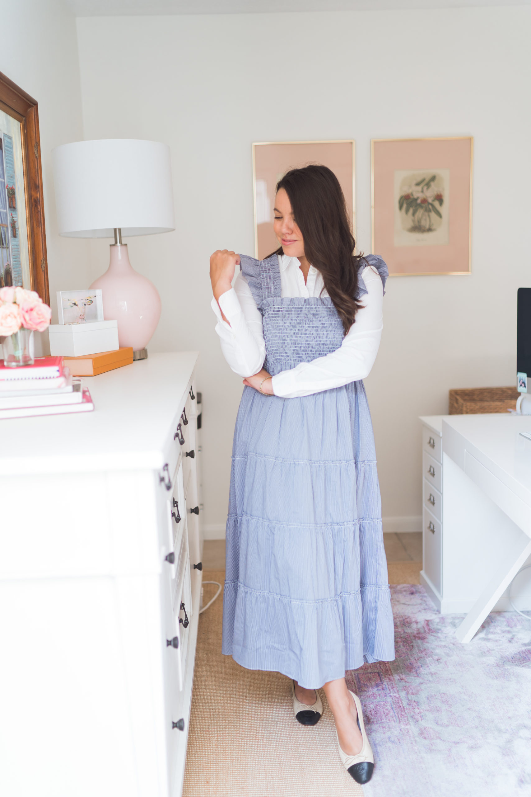 How to style the Hill House nap dress