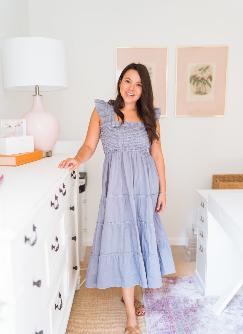 Hill House nap dress review - Adored by Alex